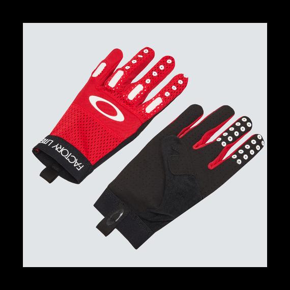 Oakley New Factory Lite Glove 2.0 High Risk Red