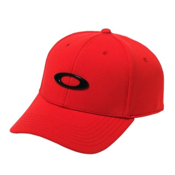 Oakley Tincan sapka Red Black